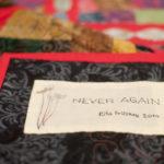 Never again - particolare 4
